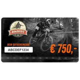 Bikeunit Geschenkgutschein 750 €